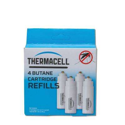 Butane Cartridge Refill (4-Pack)
