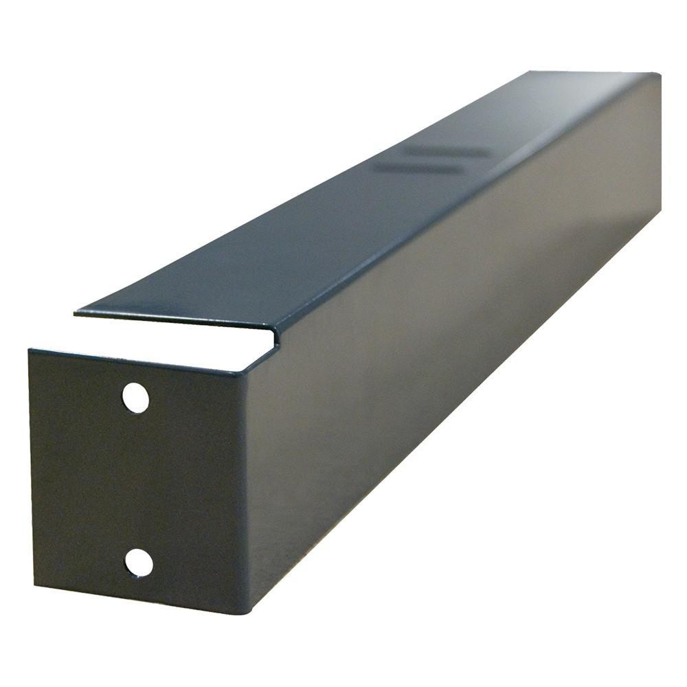 18 In. L Individual Gray Steel Heavy Duty Shelf Deck Support