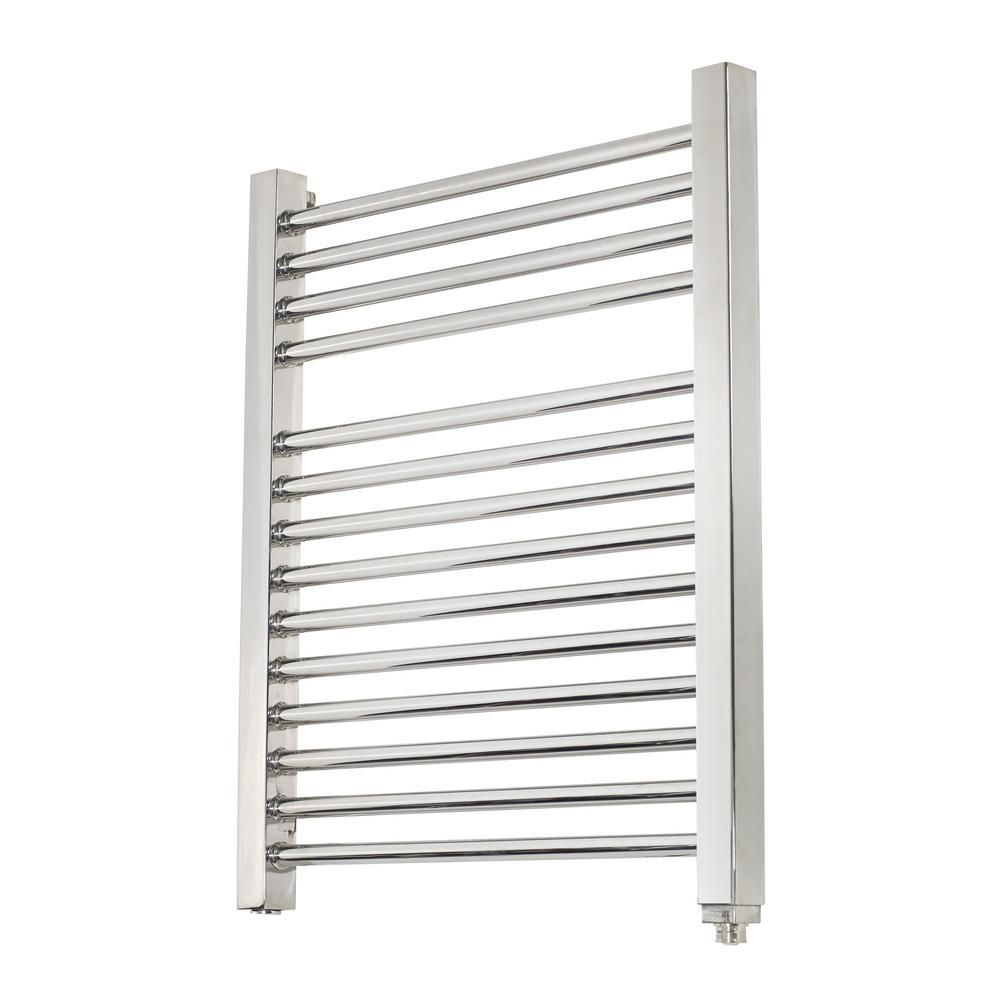 Big Size Stainless Towel Warmer Heated Towel Rack: Mr. Steam 14-Bar Wall Mounted Electric Towel Warmer With