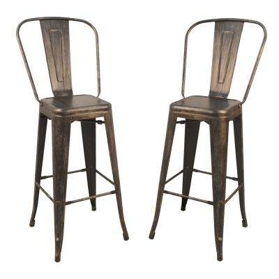 Full Back Bar 28 33 Metal Bar Stools Kitchen Dining Room