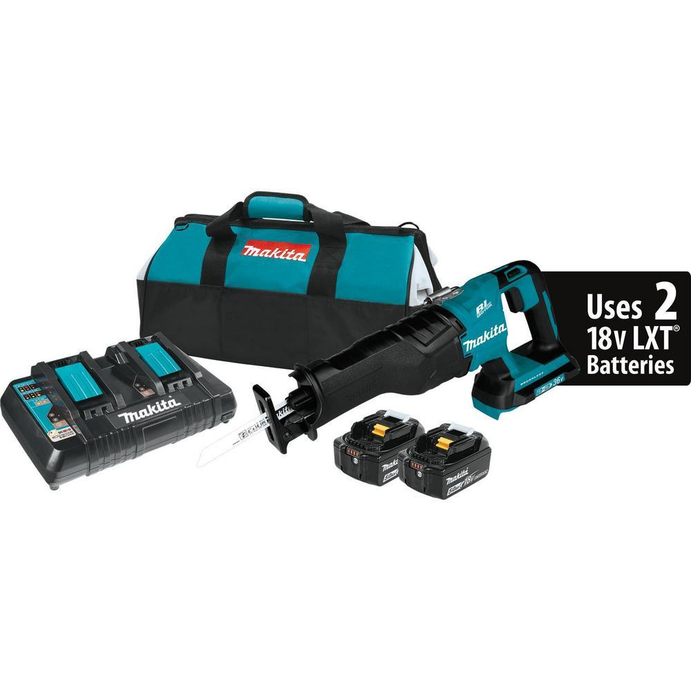 Makita 18 V LXT DJR186 DJR186Z DJR186RFE scie alternative /& DK18027 tractable Sac