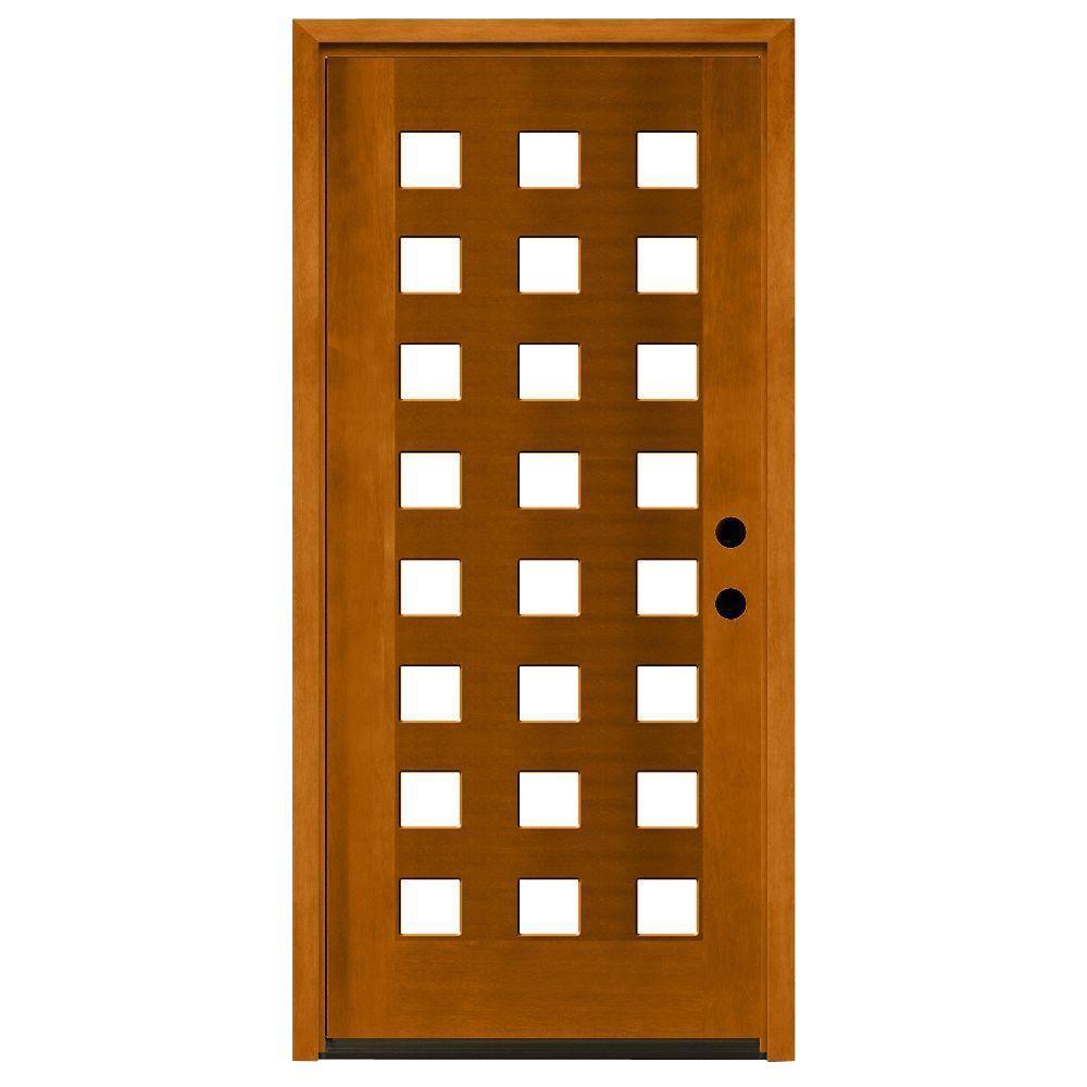 24 Inch Exterior Door Home Depot: Steves & Sons 36 In. X 80 In. Modern 24 Lite Obscure