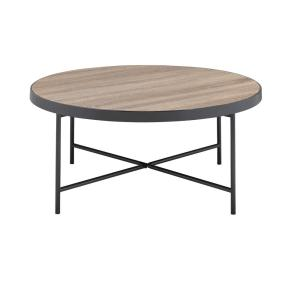 Acme Furniture Bage Weathered Gray Oak Water Resistant Coffee Table by Acme Furniture