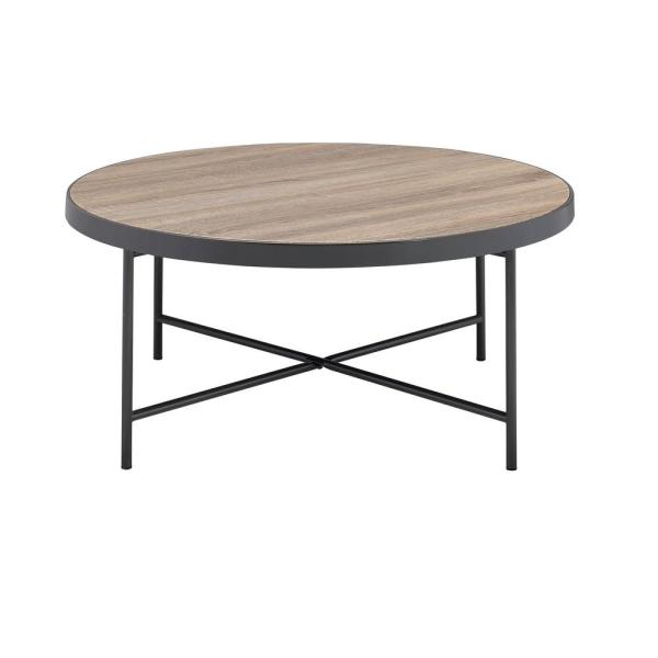 ACME Furniture Bage Weathered Gray Oak Water Resistant Coffee Table 81735