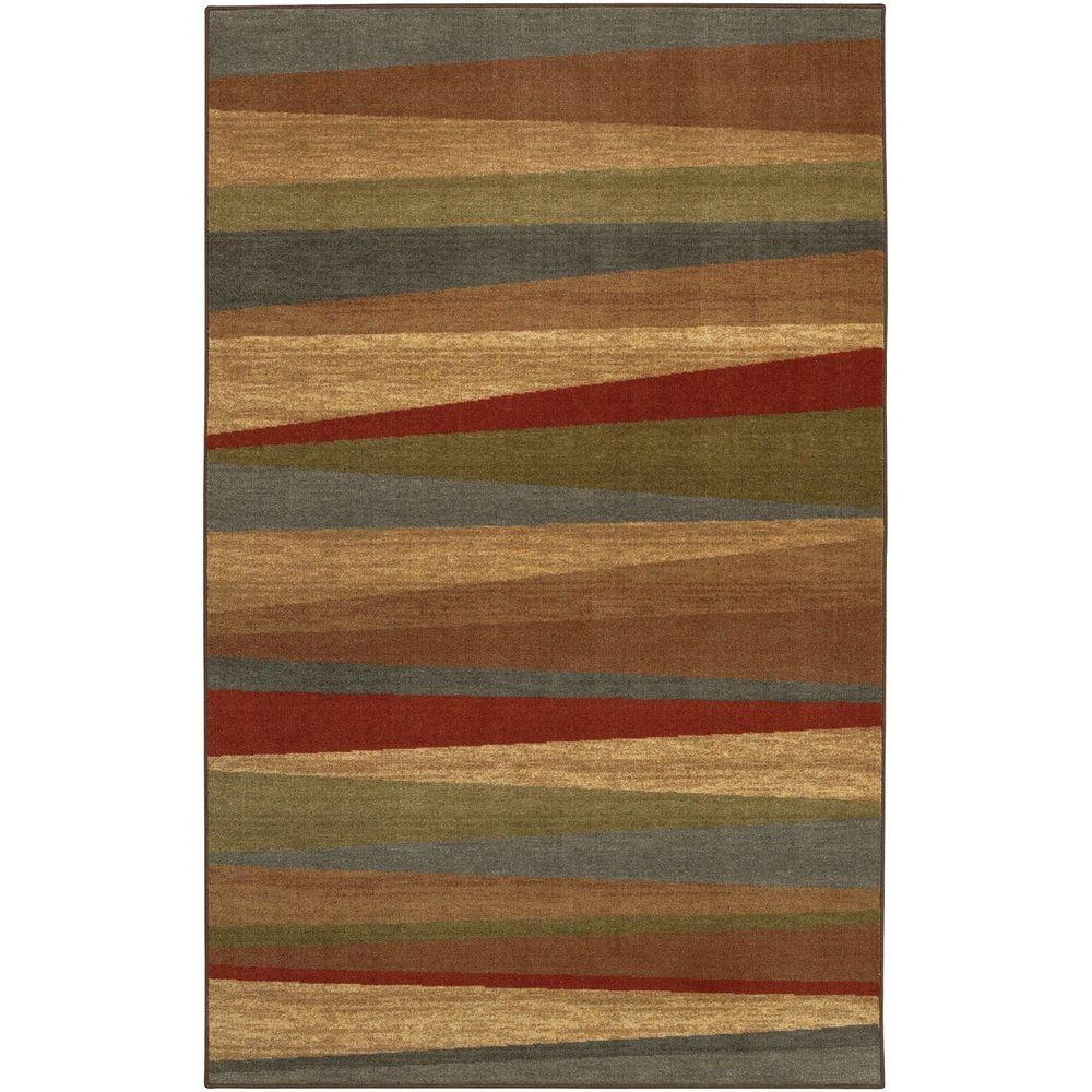 Mohawk Home Mayan Sunset Sierra 5 ft. x 8 ft. Area Rug
