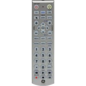 Ge Universal Remote With Led Backlight 4 Piece 24929