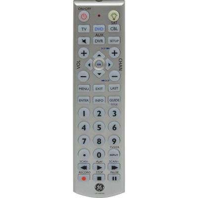 Universal Remote with LED Backlight (4-Piece)