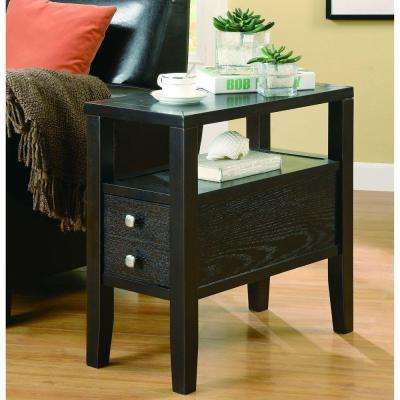 Allen Cappuccino End Table