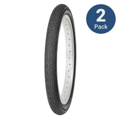 Tony T 20 in. x 1.75 in. Juvenile/BMX Wire Bead Tire (2-Pack)