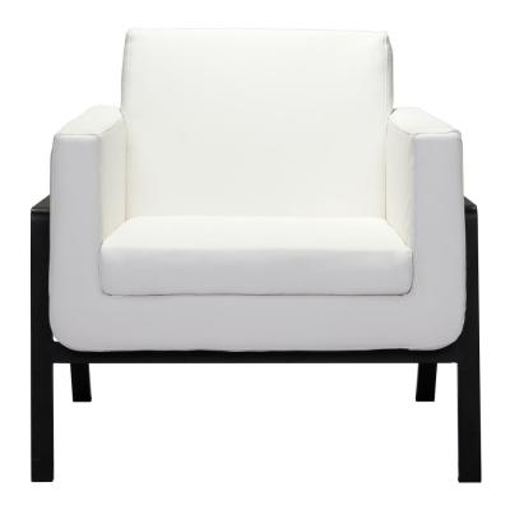 Homestead White Lounge Chair