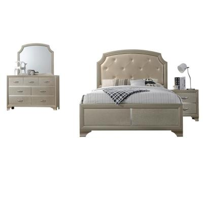 Home Source McPherson Queen 4 Piece Bedroom Collection