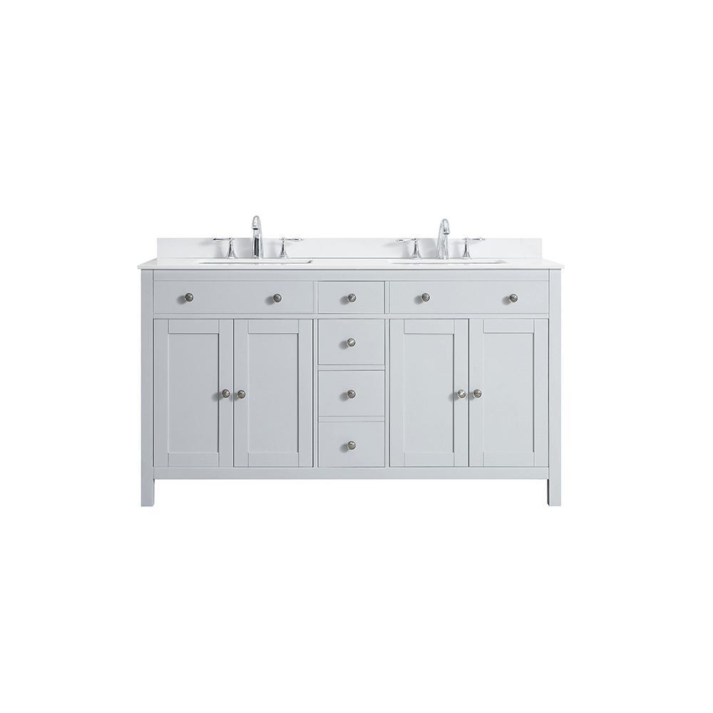 60 inch vanities bathroom vanities bath the home depot rh homedepot com