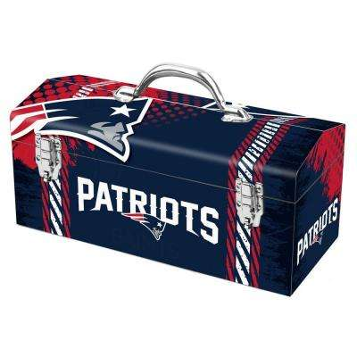 7.2 in. New England Patriots NFL Tool Box