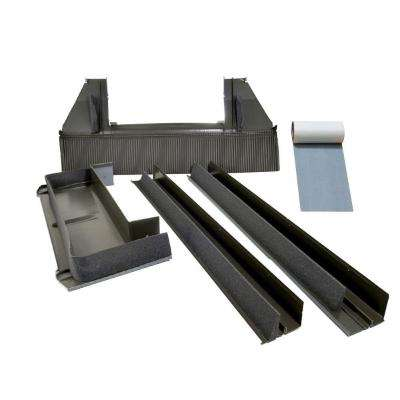 D06 High-Profile Tile Roof Flashing with Adhesive Underlayment for Deck Mount Skylight