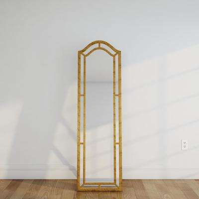 Wood - Gold metallic - Arch - Mirrors - Wall Decor - The Home Depot