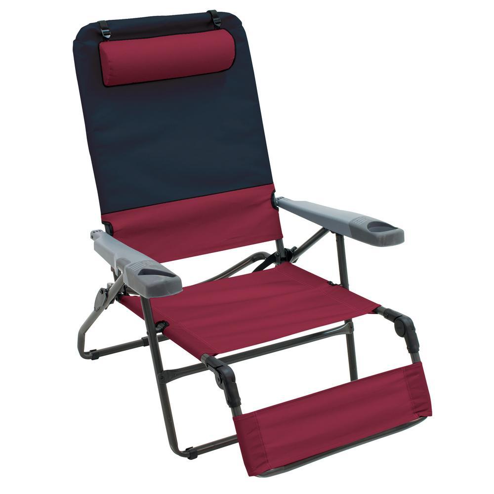 7784f3adf3 Rio Ottoman Lounge 4-Position Camp Chair