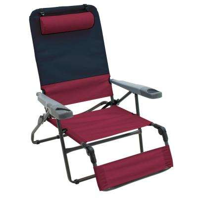 Ottoman Lounge 4-Position Camp Chair