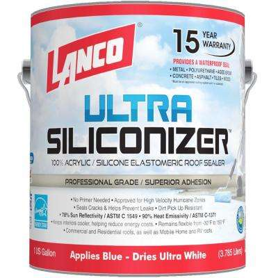 1 Gal. Ultra Siliconizer Reflective Roof Coating