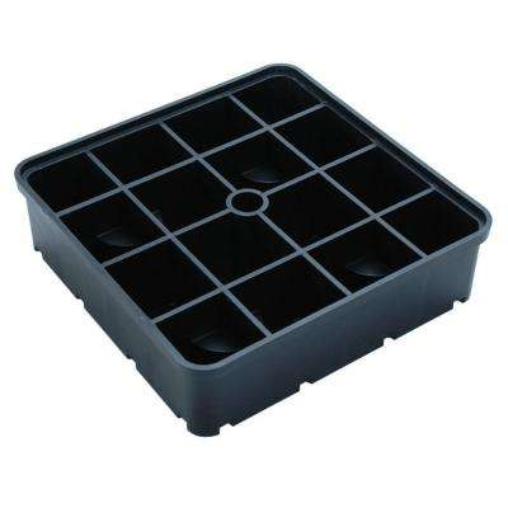 3 in. Black Riser Block