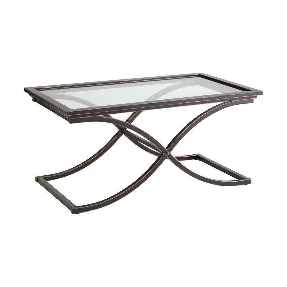 Vogue Black Contoured Coffee Table