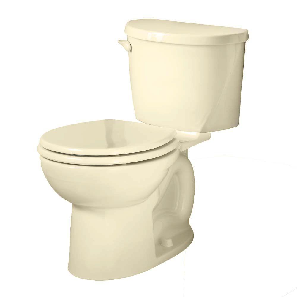 American Standard Evolution 2 Piece 1 6 Gpf Single Flush Round Toilet In Bone