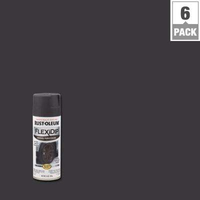 11 oz. Matte Graphite Removable Rubber Coating Spray (6-Pack)