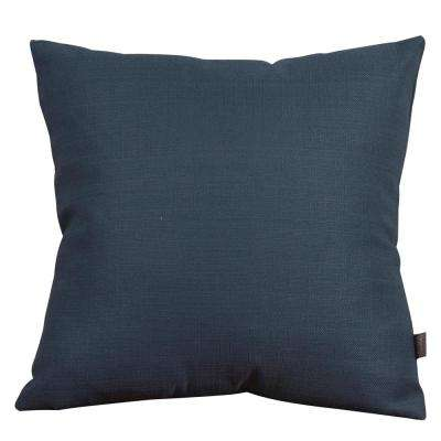 Sterling Blue Indigo 20 in. x 20 in. Decorative Pillows