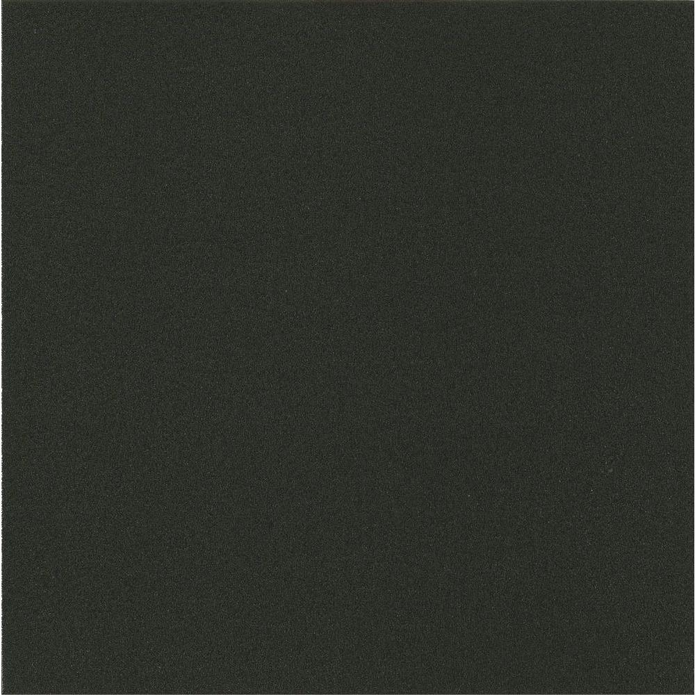 Armstrong stylistik ii 12 in x 12 in x in black for Black vinyl floor tiles