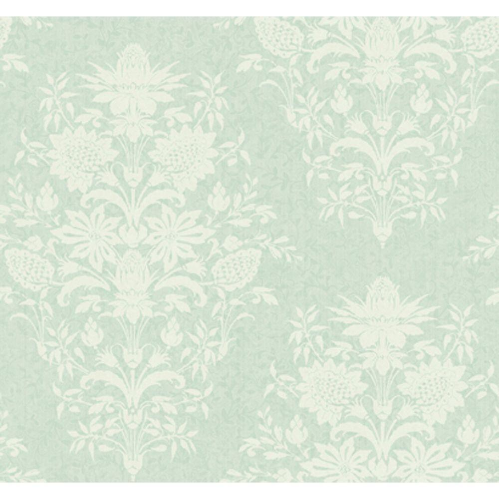 York Wallcoverings 60.75 sq. ft. Damask Small Scrolling Vine Wallpaper