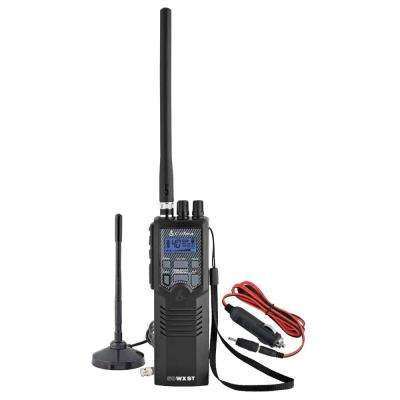 Citizens Band 2-Way Handheld CB Radio with Magnet Mount Antenna