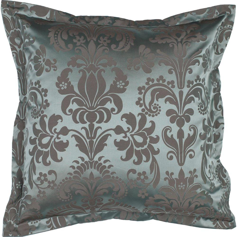 Artistic Weavers Damask1 18 in. x 18 in. Decorative Down Pillow-DISCONTINUED