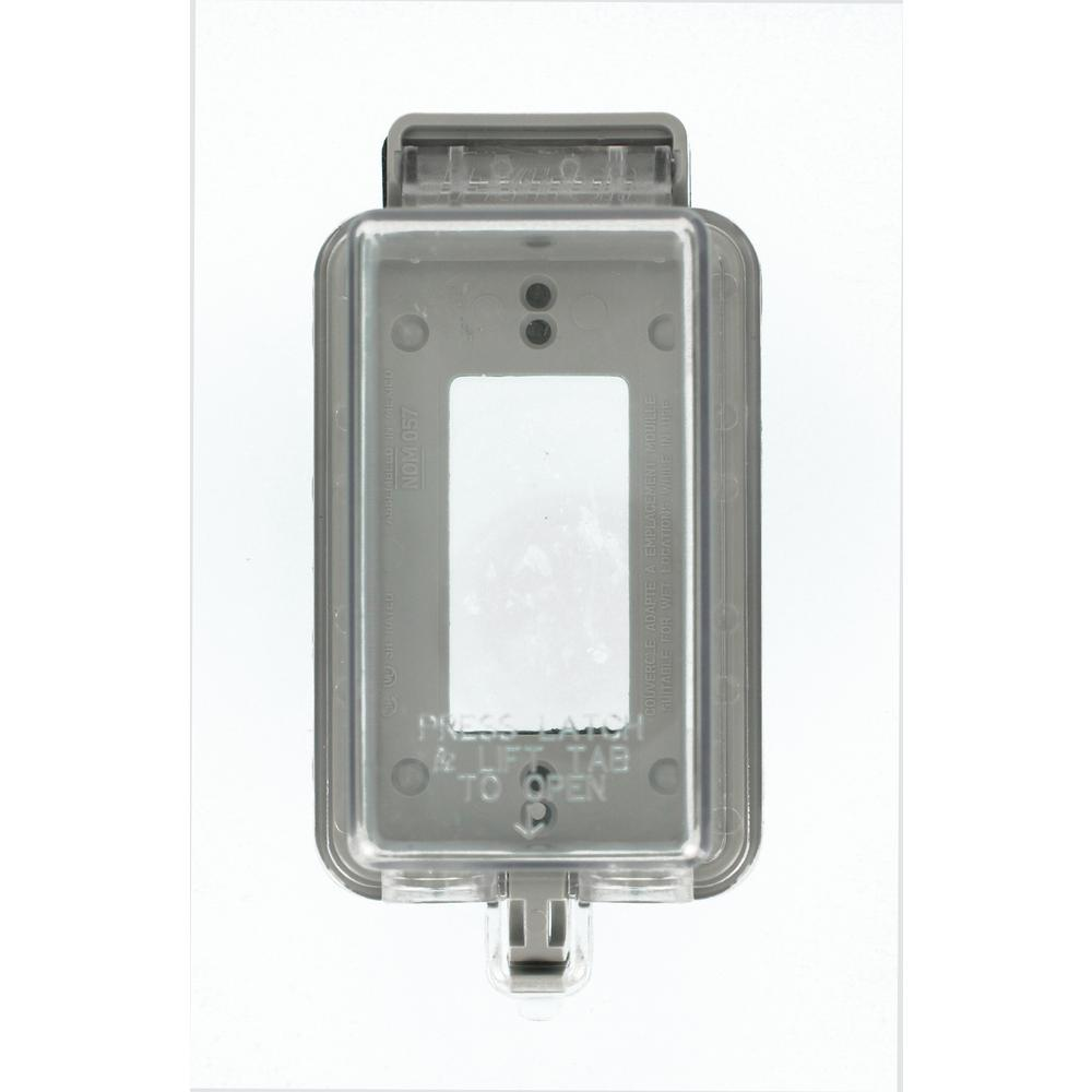 Clear - Switch Plates - Wall Plates - The Home Depot