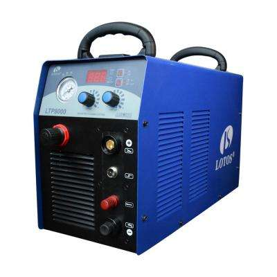 80 Amp Non-Touch Pilot Arc IGBT Inverter Plasma Cutter for Metal, 220V, 1 inch Clean Cut