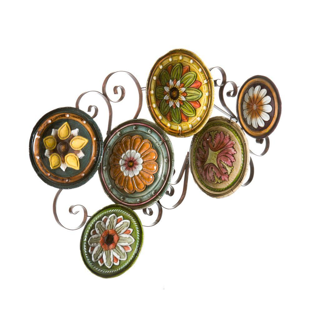 Southern Enterprises Scattered Italian Plates Wall Art-WS9435 - The Home Depot  sc 1 st  Home Depot & Southern Enterprises Scattered Italian Plates Wall Art-WS9435 - The ...