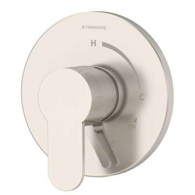 Identity 1-Handle Pressure Balance Tub/Shower Valve with Lever Diverter in Satin Nickel