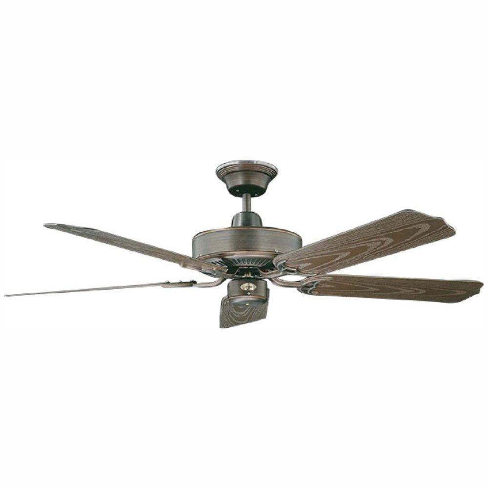 Nautika 52 in. Outdoor Oil Rubbed Bronze Ceiling Fan