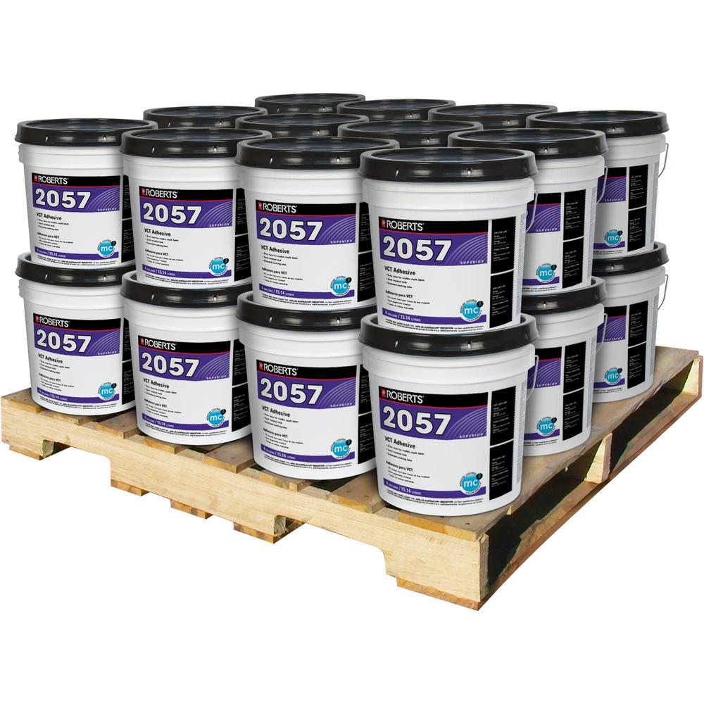 4 Gal. Premium Vinyl Tile Glue Adhesive (24 Pail Pallet)
