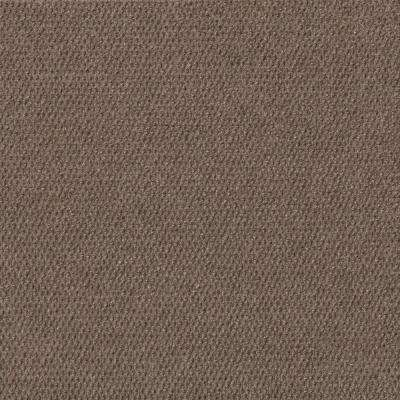 Premium Self-Stick Hobnail Espresso Texture 18 in. x 18 in. Indoor and Outdoor Carpet Tile (16 Tiles / case)