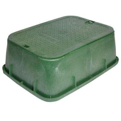 14 in. x 19 in. x 6 in. Standard Tapered Valve Box and Cover