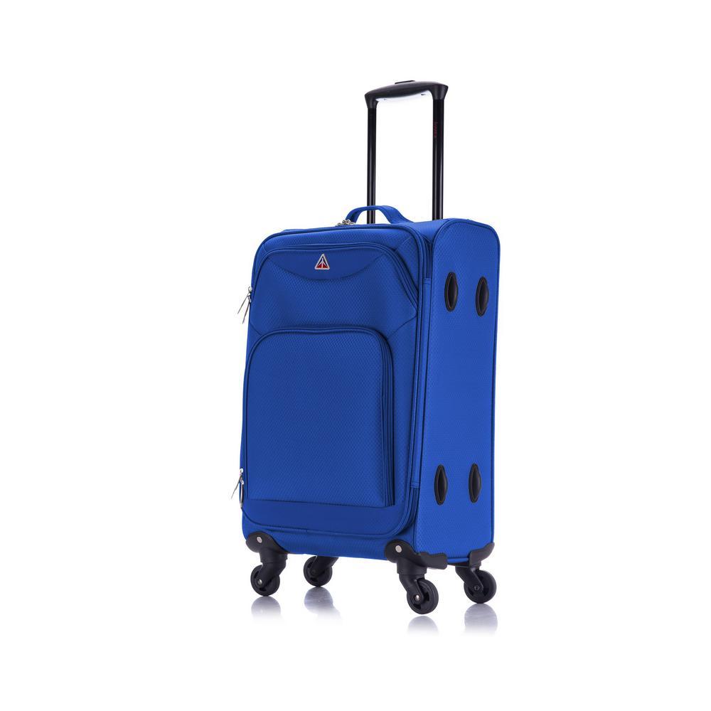 Light-Fi ultra-light spinner 20 in. carry-on Blue
