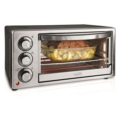1300 W 6-Slice Stainless Steel Convection Toaster Oven