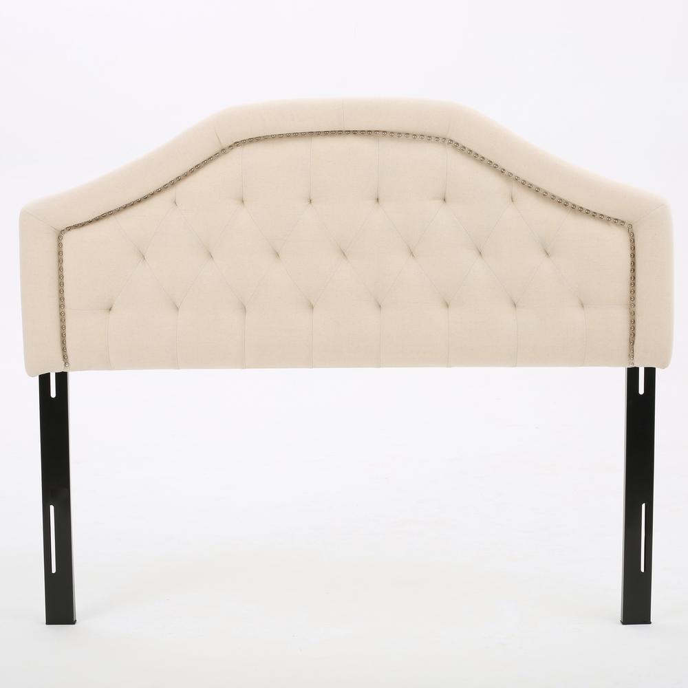 Florence Beige Fabric Queen/Full Headboard