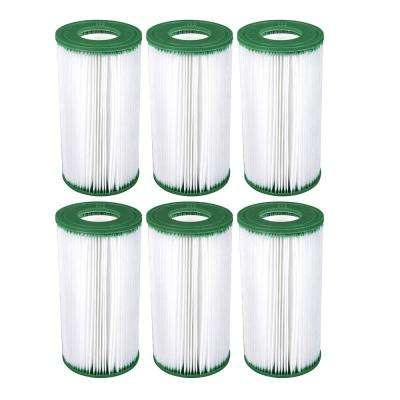 4.25 in. Dia 50 sq. ft. Coleman Type III A/C Pool Replacement Filter Cartridge (6-Pack)