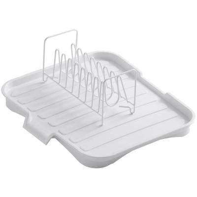 Drainboard with Wire Sink Bowl Rack in White