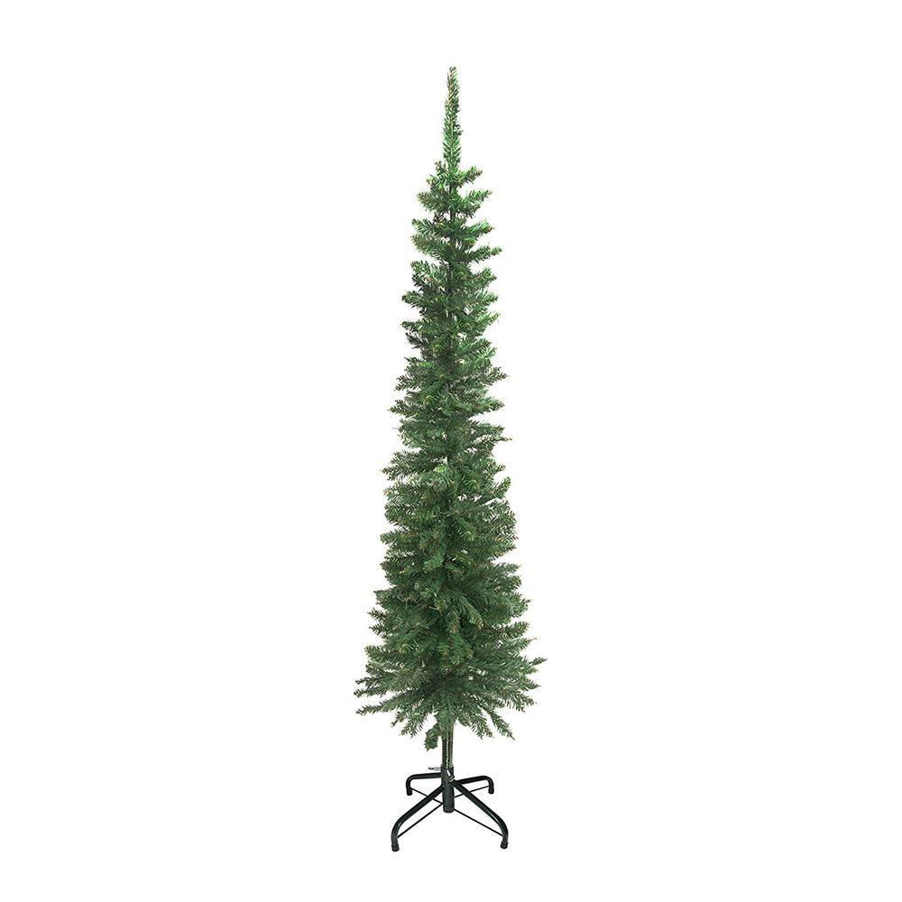 Artificial Christmas Tree 10 Ft: ALEKO 6 Ft. Unlit Artificial Christmas Tree-CT71H10-HD