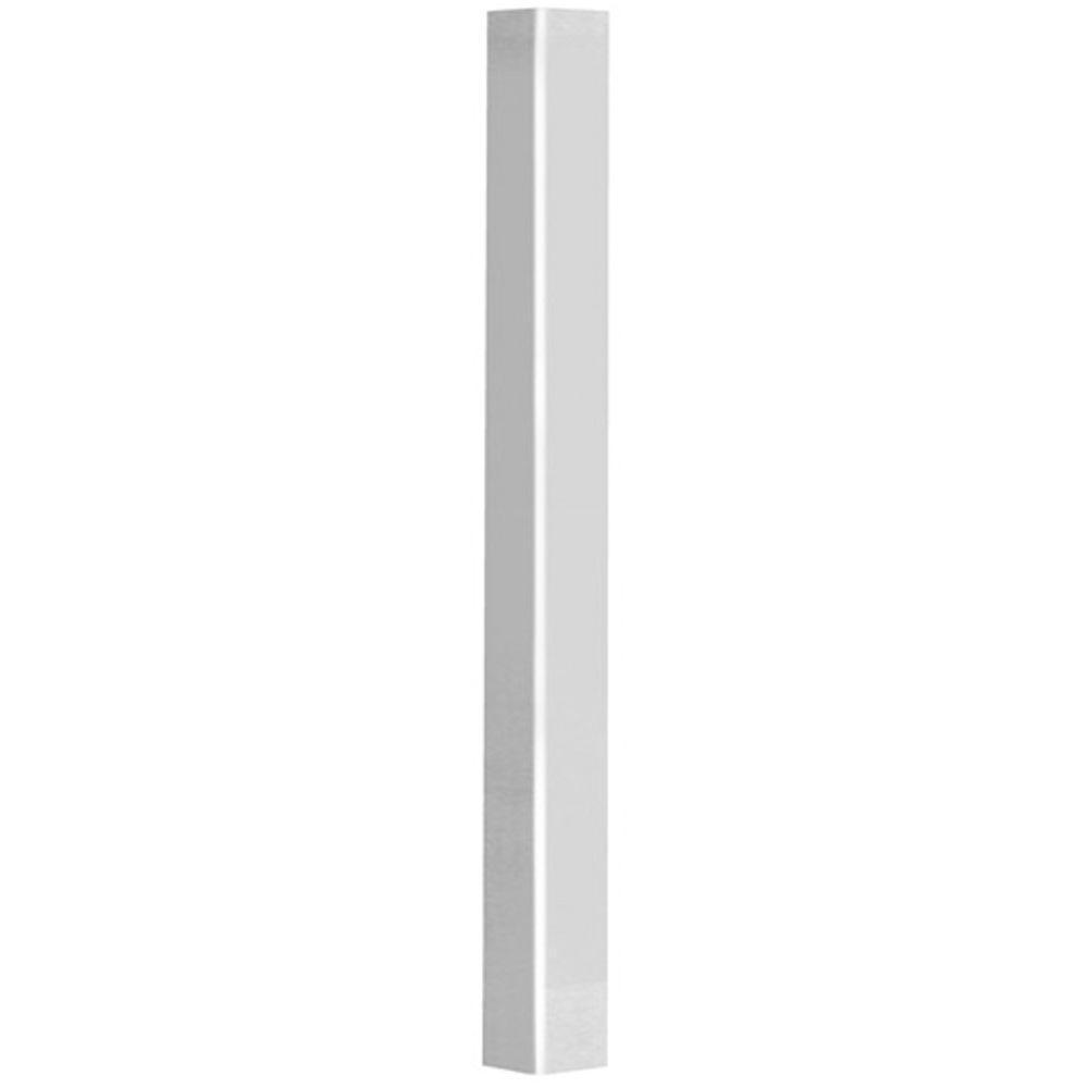 Veranda 4 in. x 4 in. x 100 in. White Traditional Post Jacket