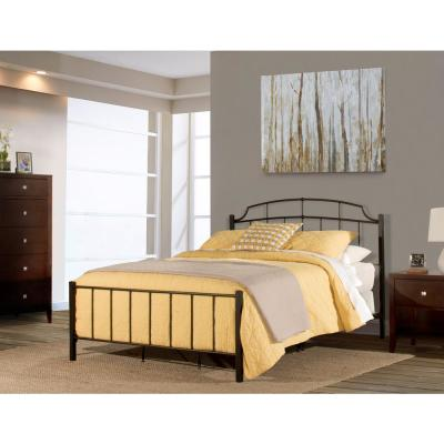 Sheffield Textured Black Queen Bed in One