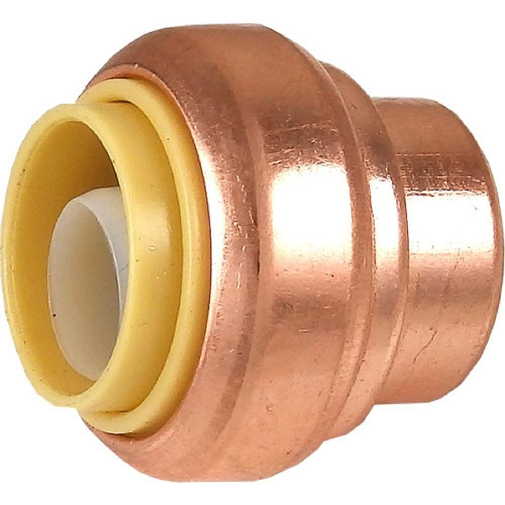 1/2 in. Copper Push-to-Connect End Stop