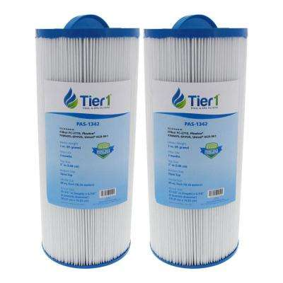 60 sq. ft. Spa Filter Cartridge for Jacuzzi J300 6541-383 and J300 Series Jacuzzis (2-Pack)