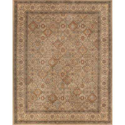 Linden Ivory 5 ft. x 7 ft. Indoor Area Rug